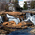 Falls Park Sc by Karl Voss