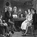 Family Reading, 1840 by Granger