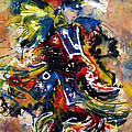 Fancy Dancer I by Christine Chzasz