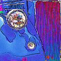 Fancy Dancy Vintage Ford Cabriolet by Kathy Clark