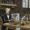 Faraday's Electrolysis Experiment, 1833 by Sheila Terry