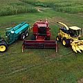 Farm Machinery by Photo Researchers