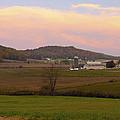 Farm Scene From Knoll On Rt. 41  by Randall Branham