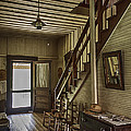 Farmhouse Entry Hall And Stairs by Lynn Palmer