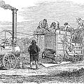 Farming: Threshing, 1851 by Granger