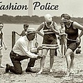 Fashion Police 1922 by Padre Art