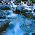 Fast-flowing River by Don Hammond