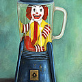 Fast Food Nightmare 2 The Happy Meal by Leah Saulnier The Painting Maniac