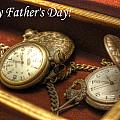 Fathers Day Hdr Pocket Watches by Sarah Broadmeadow-Thomas