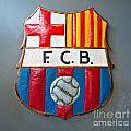 Fc Barcelona Symbol by Luciano Mortula