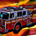 Fdny Engine 68 by Tommy Anderson