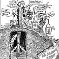 F.d.r. Cartoon, 1930s by Granger