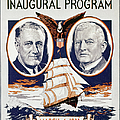 Fdr: Inauguration, 1933 by Granger