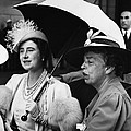 Fdr Presidency. British Queen Elizabeth by Everett
