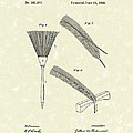 Feather Duster 1888 Patent Art by Prior Art Design