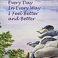 Feel Better Affirmation by Irina Sztukowski