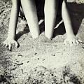 Feet In The Sand by Joana Kruse