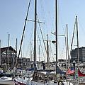 Fells Point Boatyard by Brendan Reals