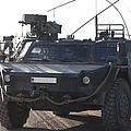 Fennek Armored Reconnaissancd Vehicles by Timm Ziegenthaler