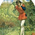 Ferdinand Lured By Ariel by John Everett Millais