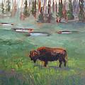 Ferdinand Yellowstone Np by Karin  Leonard