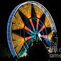 Ferris Wheel At Night by Mats Silvan