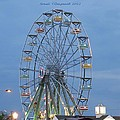 Ferris Wheel At Virginia Beach by Sonali Gangane