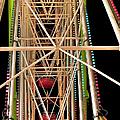 Ferris Wheel Detail by Endre Balogh