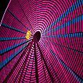 Ferris Wheel In Pink by Darleen Stry