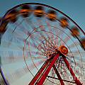 Ferris Wheel Iv by Clarence Holmes