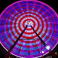 Ferris Wheel Purple by David Lee Thompson
