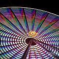 Ferris Wheel Rainbow by Darleen Stry