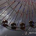 Ferris Wheel Reflection by Darleen Stry