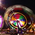 Ferris Wheels Go Round by Kym Backland