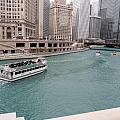 Ferry Through Chicago by Val Oconnor