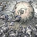 Fertilisation, Conceptual Image by Smetek