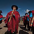 Festival De Danzas Tradicionales En La Poblacion De Copusquia. Republica De Bolivia. by Eric Bauer