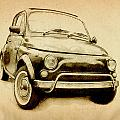 Fiat 500l 1969 by Michael Tompsett