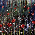 Field Of Poppies by Ami Brown