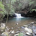 Fierry Gizzard Waterfall by Kimberly Hebert