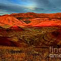 Fiery Painted Hills by Adam Jewell