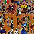 Fiesta Del Dia De Los Muertos by Myztico Campo