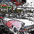 Fifties Drive In by David Lee Thompson