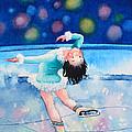 Figure Skater 16 by Hanne Lore Koehler