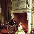 Figures In An Interior  by Ary Johannes Lamme