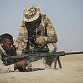 Fijian Contractor Clearing His Barrett by Terry Moore