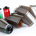 Film And Canisters by Carlos Caetano