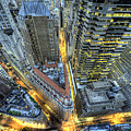 Financial District New York City by Tony Shi Photography