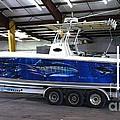 Fine Art Boat Wraps by Carey Chen