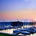 Fine Sailing Morning Coming Up by Randall Branham
